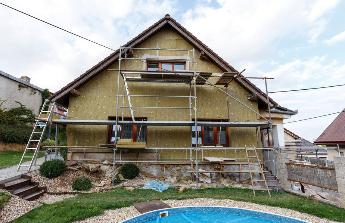 Dokončení rekonstrukce domu