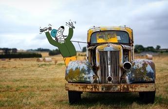 Opravu auta a pracku