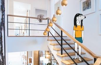 schody do domu