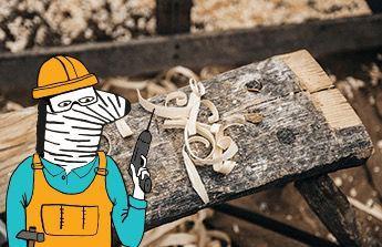 Nákup nářadí v oblasti stolarstvi