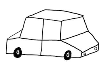 Vozík za auto