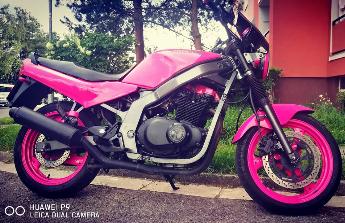 Moje vysněná motorka