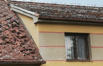 Pěkná střecha dělá chalupu chalupou.