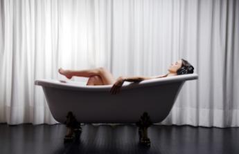 Odpočinek ve vaně