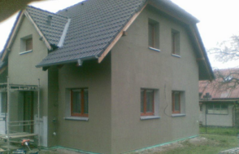 Dokončení rekonstrukce domku
