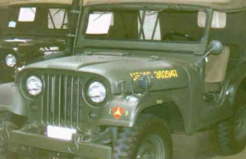 nákup amerického jeepu M38A1