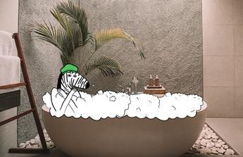 bezbariérovou koupelnu