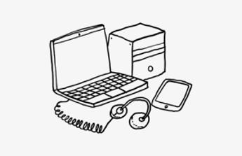 Elektronika pro foto post-processing