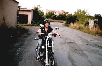 Zpátky na motorku